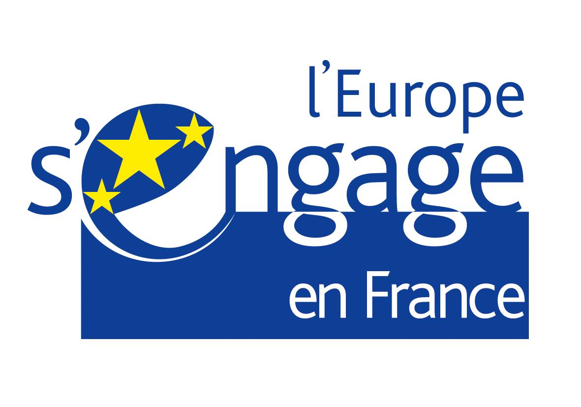 logo l Europe s engage