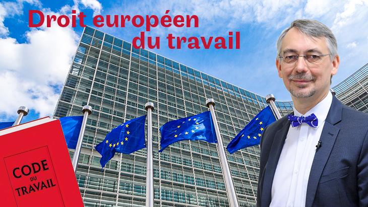 01022 Droit européen du travail Image de couverture