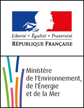 Logo Ministère de l'Environnement, de l'Énergie et de la Mer